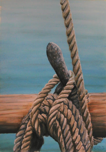 nautical-14-05-painting-rope-bollard
